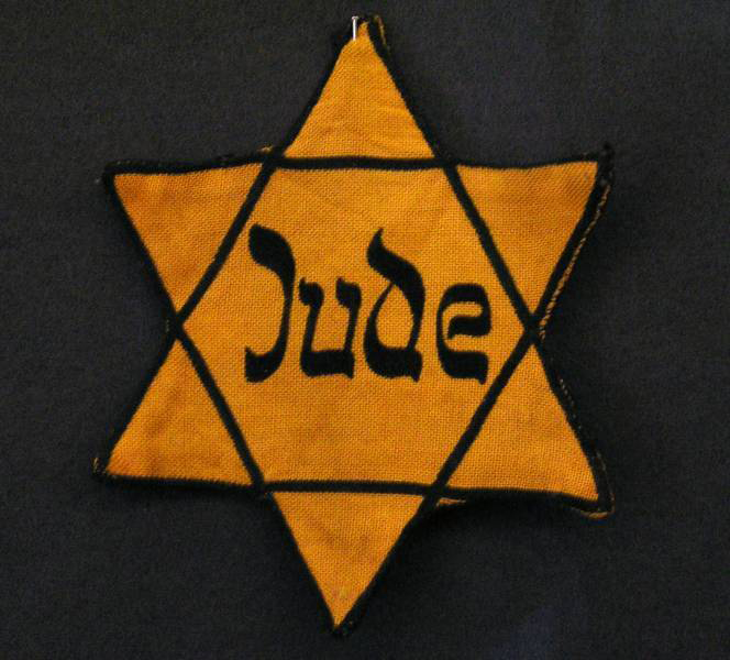 Image result for yellow star of david