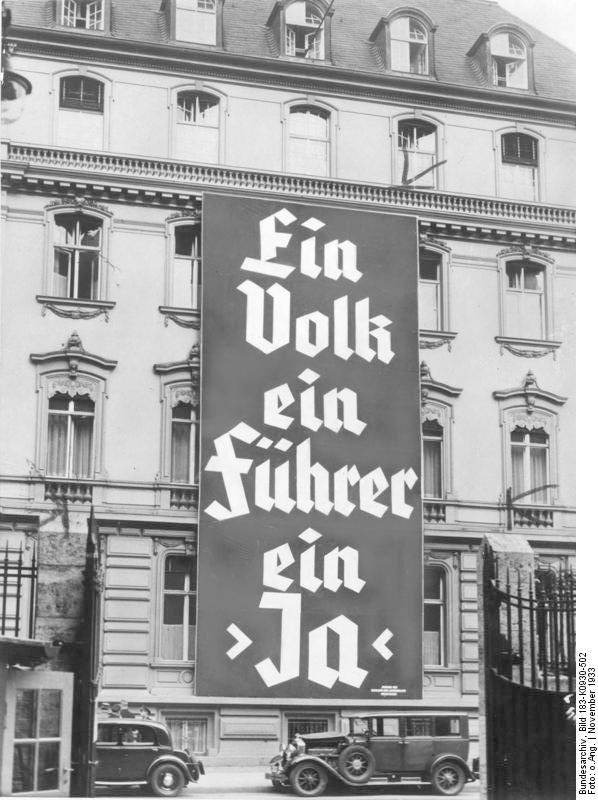 Gleichschaltung Hitler